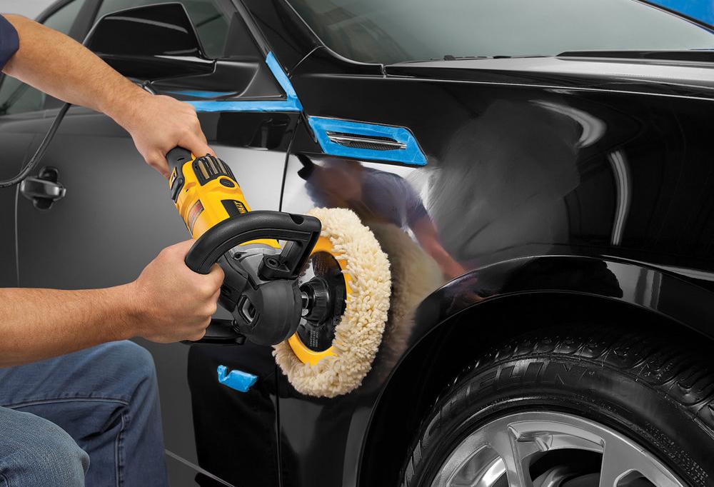 Профессиональная полировка автомобиля своими руками